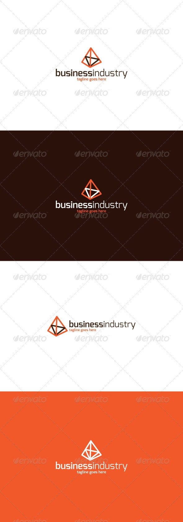 Business Industry Logo  - Vector Abstract