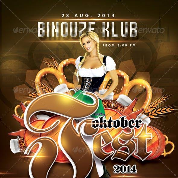 Oktober Beer Fest In German Club
