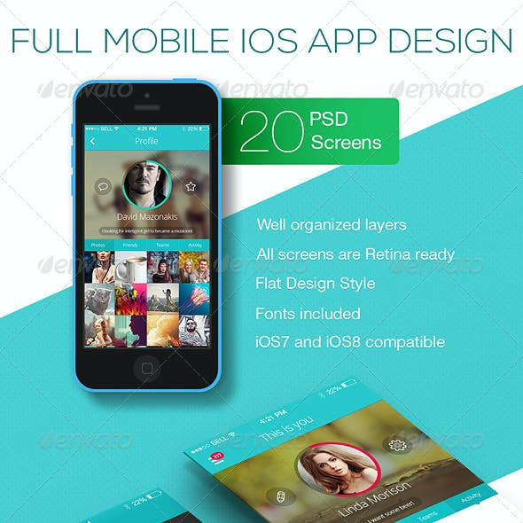 OS Phone Full Mobile App UI Kit Design
