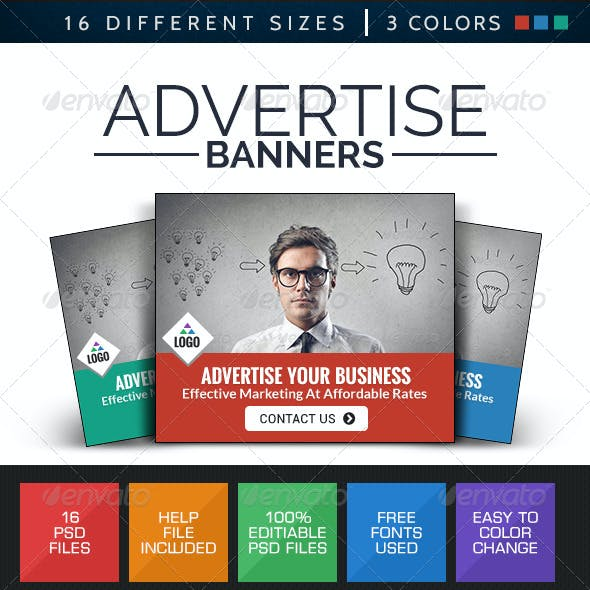 Advertise Here Banners