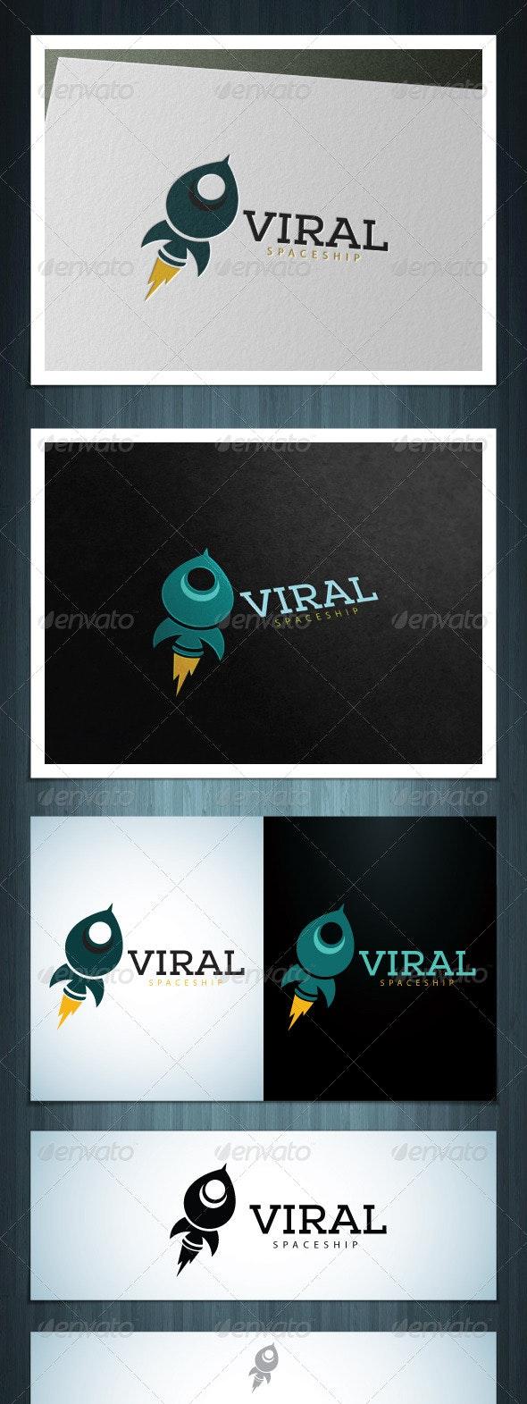 Viral Spaceship - Vector Abstract
