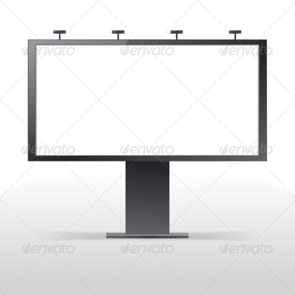 Billboard Outdoors Vector