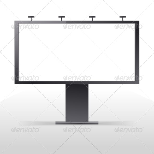 Billboard Outdoors Vector - Web Technology