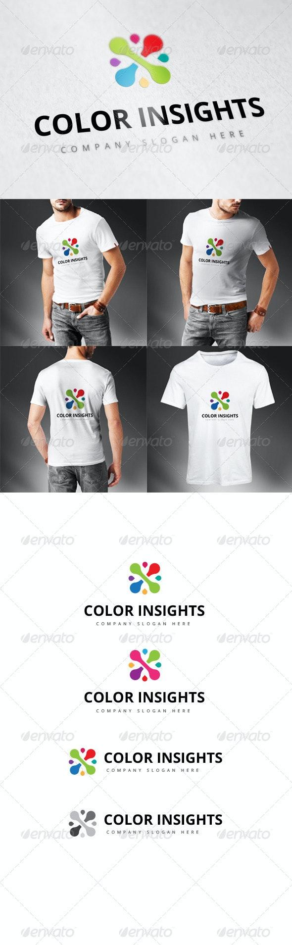 Color Insights Logo - Logo Templates