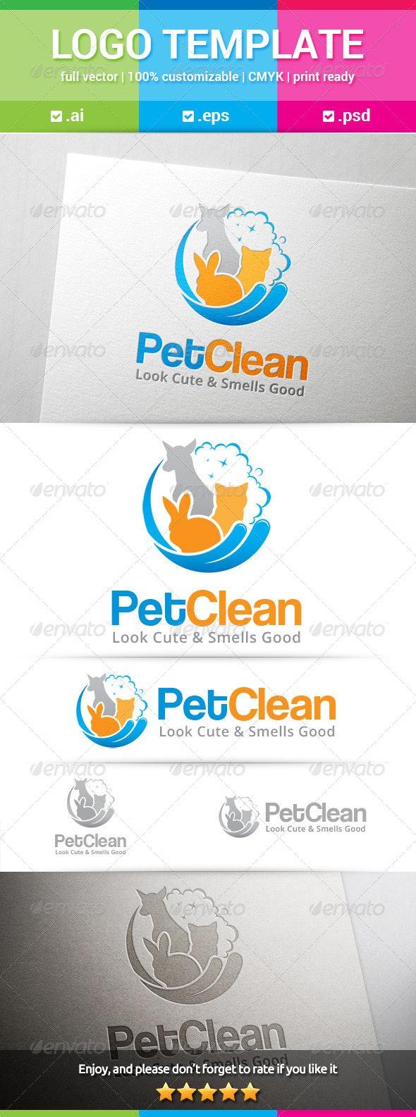 Pet Clean Logo