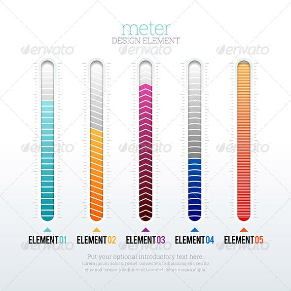 Meter Design Element