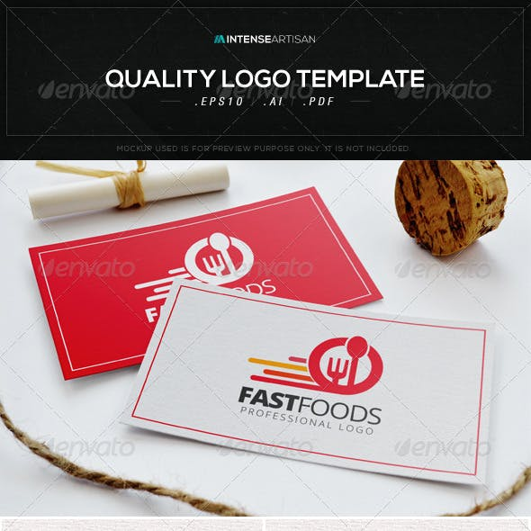 Fast Foods Logo Template