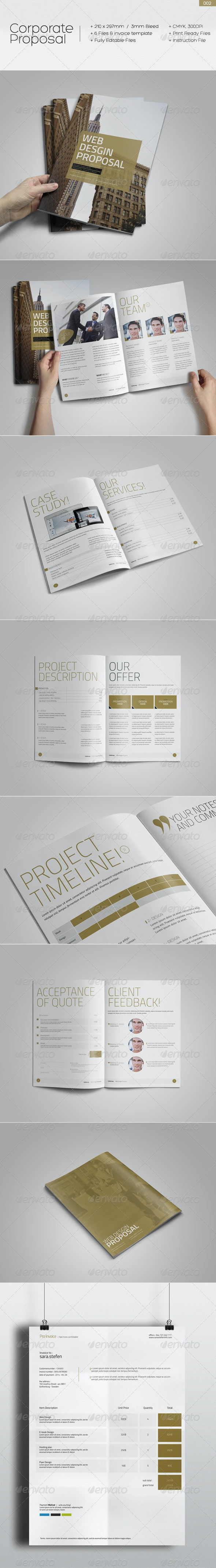 Corporate Proposal 002 - Proposals & Invoices Stationery