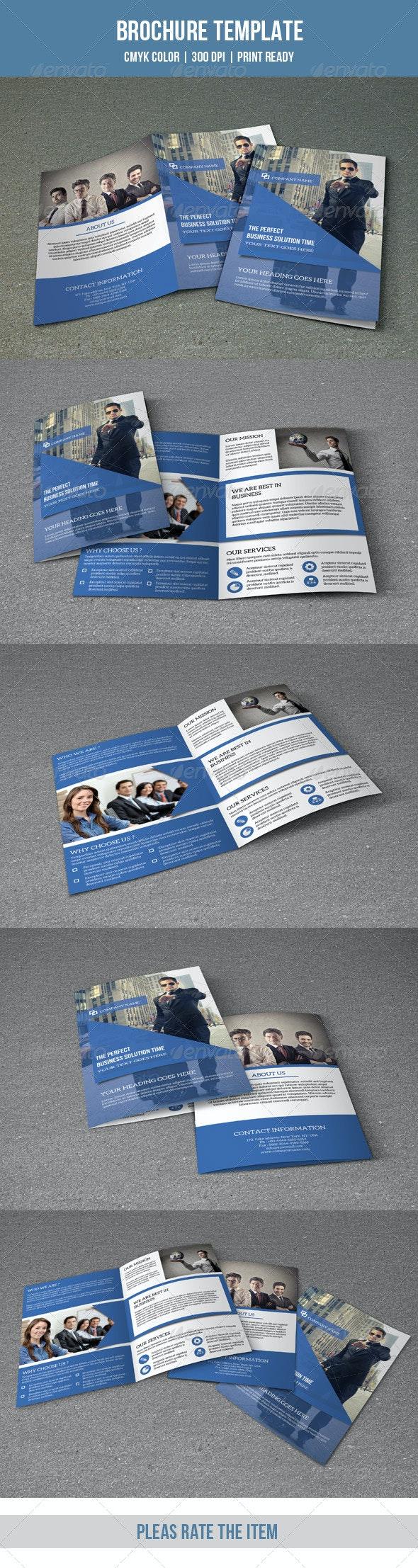 Bifold Business Brochure-V116 - Corporate Brochures