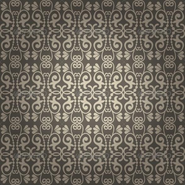 Seamless Vintage Vector Background - Patterns Decorative