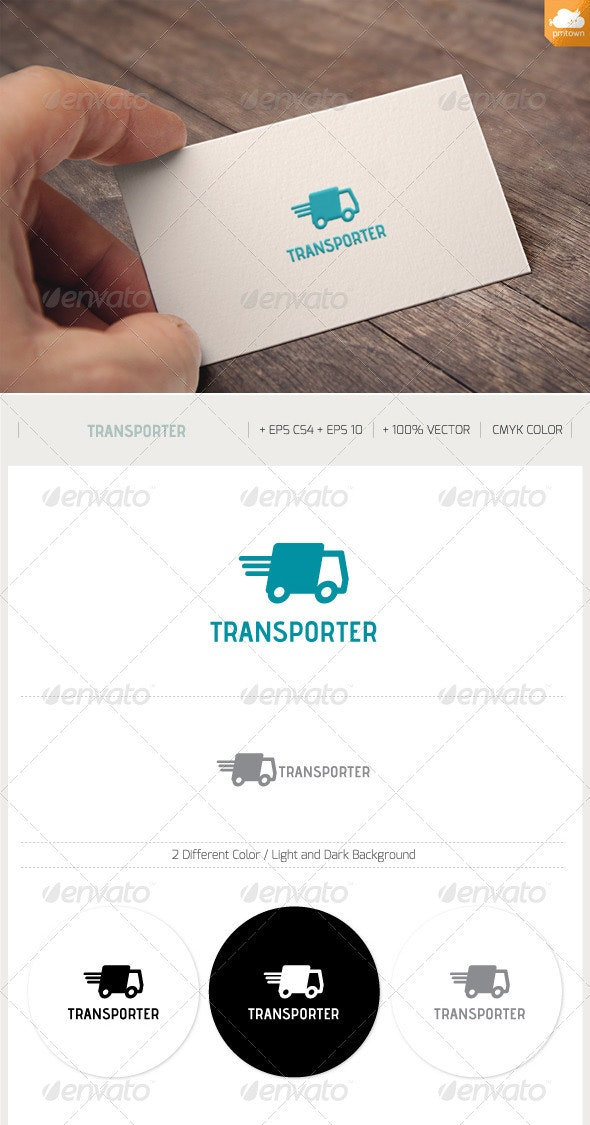 Transporter - Objects Logo Templates