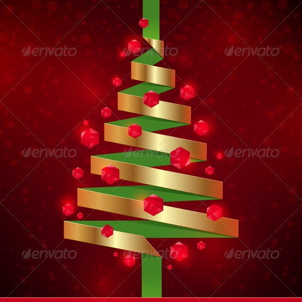 Decorative Paper Christmas Tree