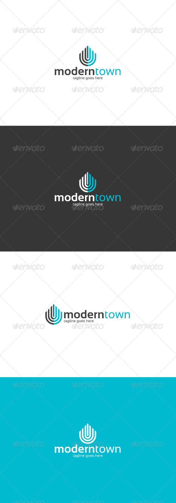 Modern Town Logo