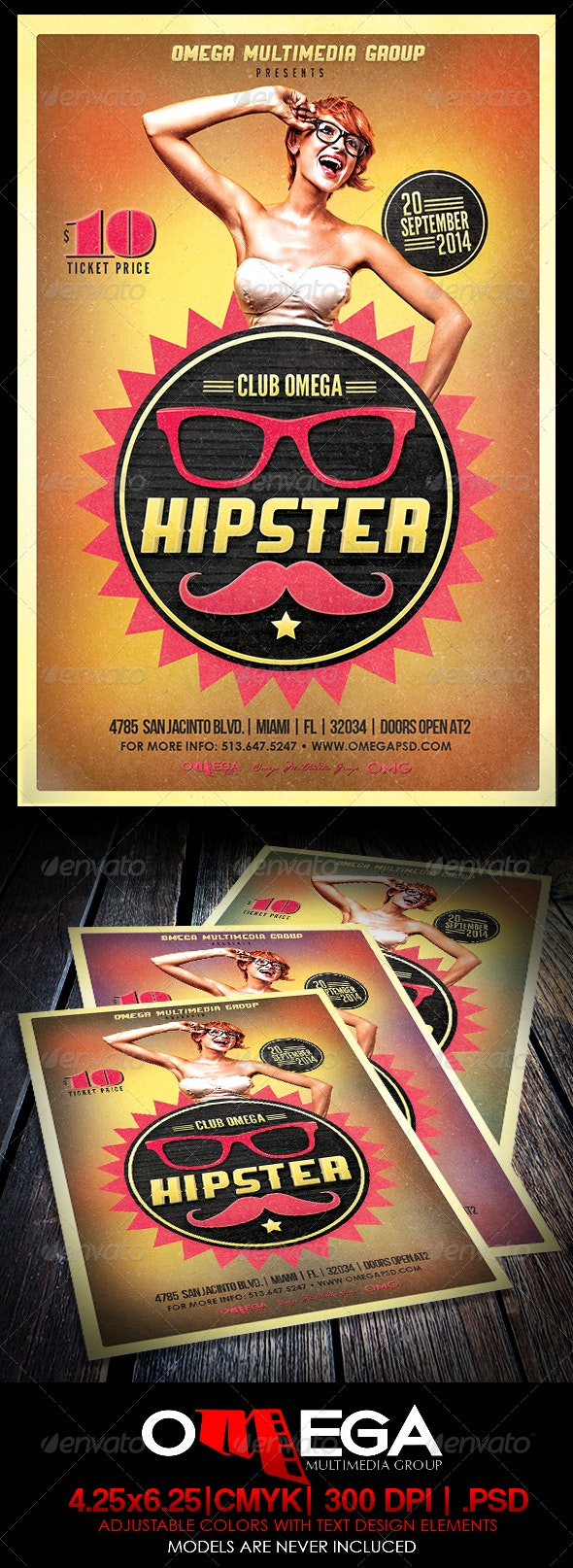 Hipster Party - Clubs & Parties Events