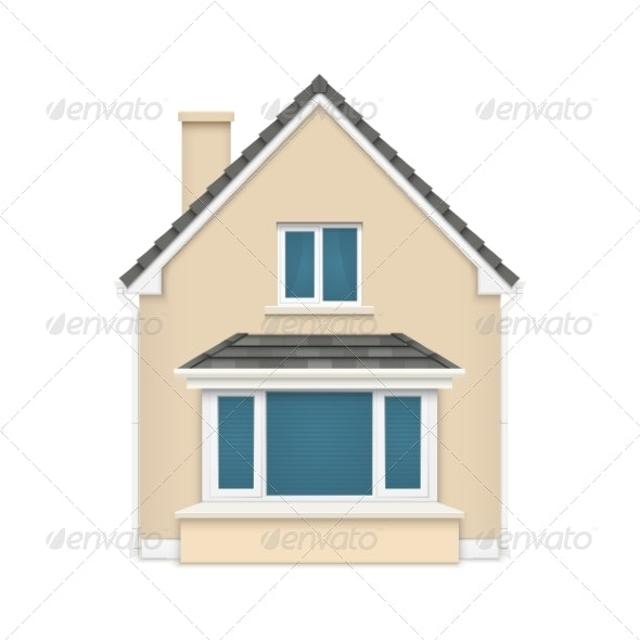 Detailed House Icon  - Buildings Objects