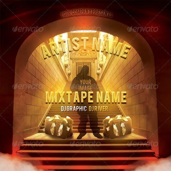Holy Grail Album Mixtape CD Cover Template