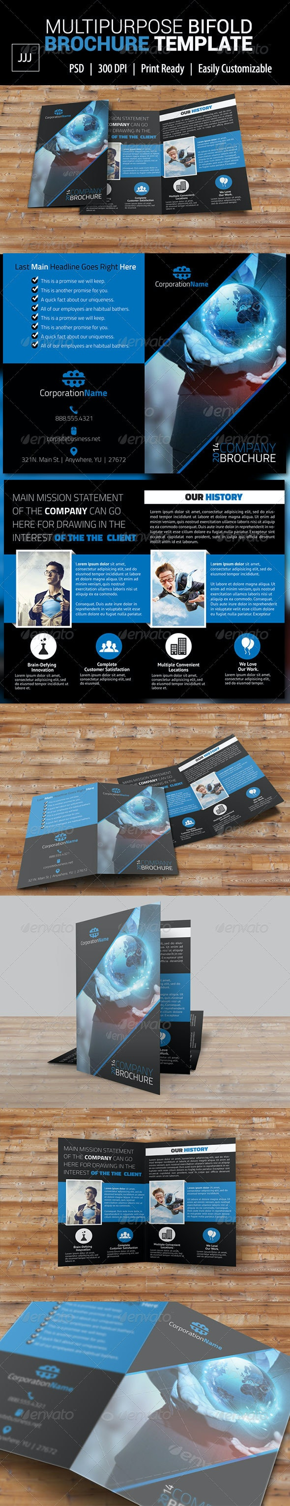 Bifold Business Brochure 35 - Corporate Brochures