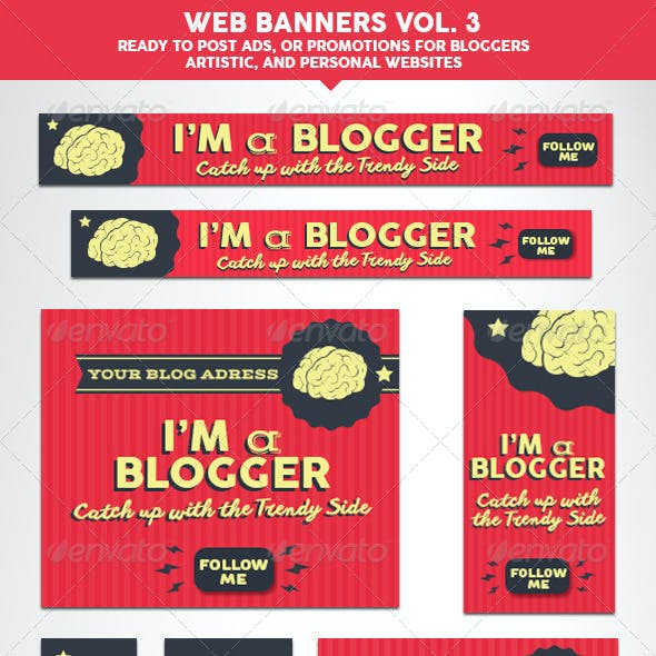 Web Banners Vol. 3