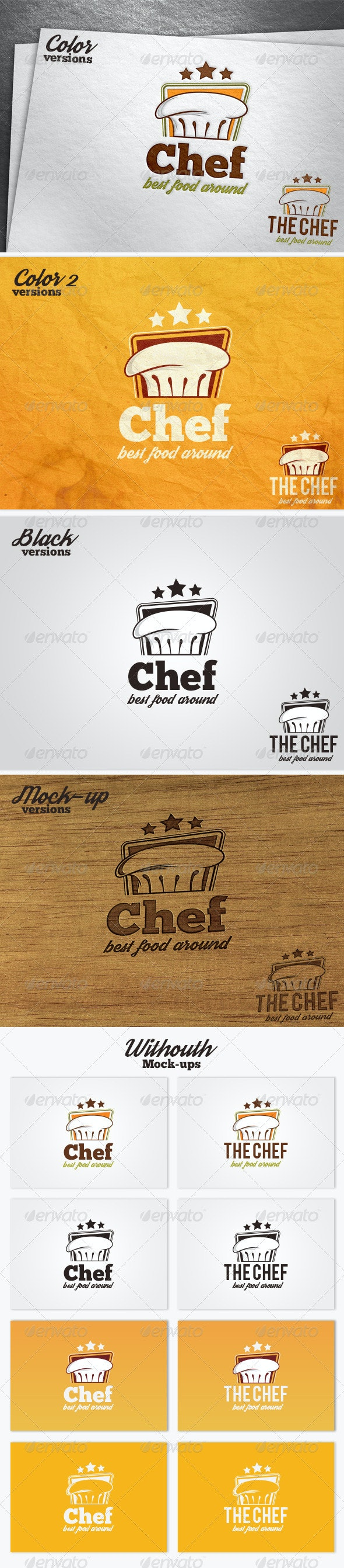 The Chef Logo Template