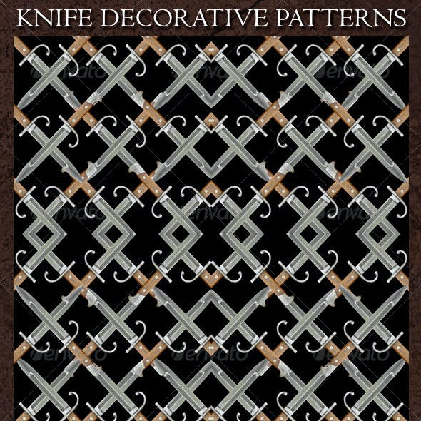 Knife Decorative Patterns