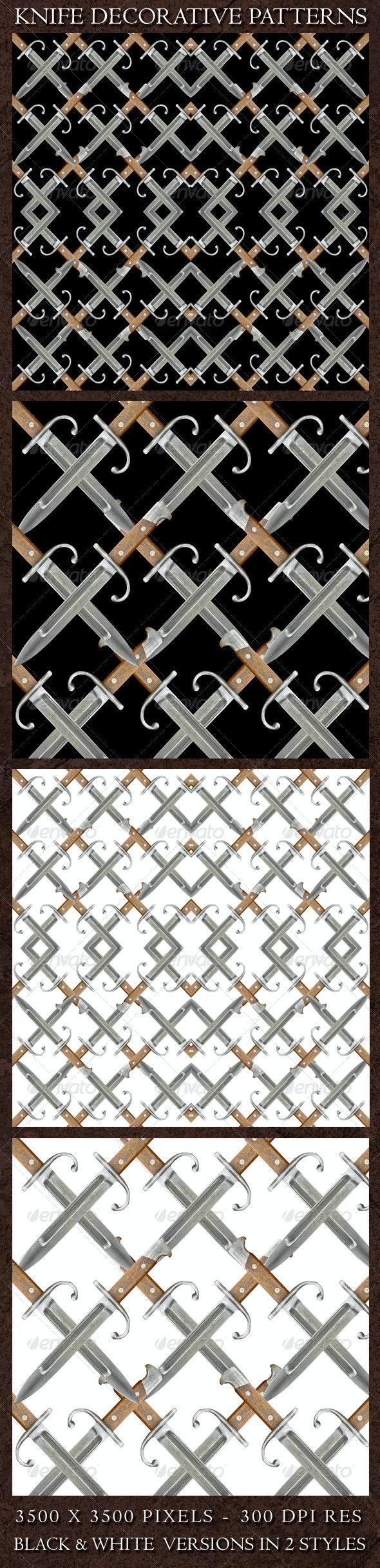 Knife Decorative Patterns  - Patterns Decorative