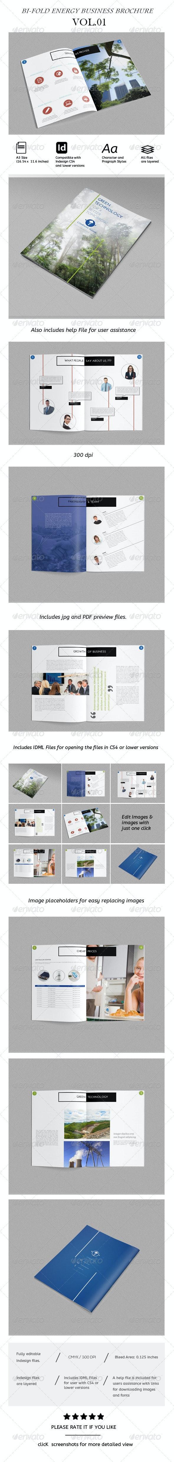Corporate Bi-Fold Brochure Vol.01 - Corporate Brochures