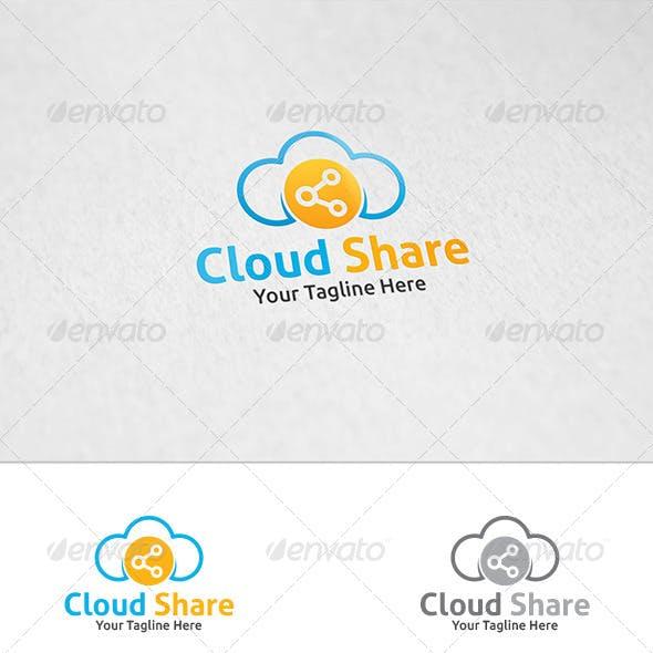 Cloud Share - Logo Template