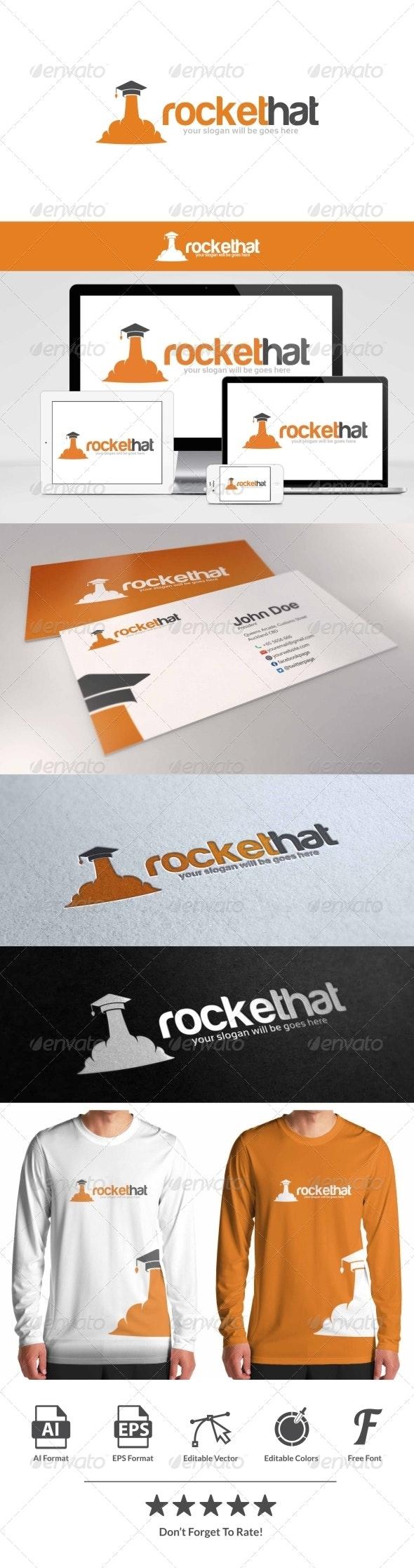 Rocket Hat Logo - Symbols Logo Templates