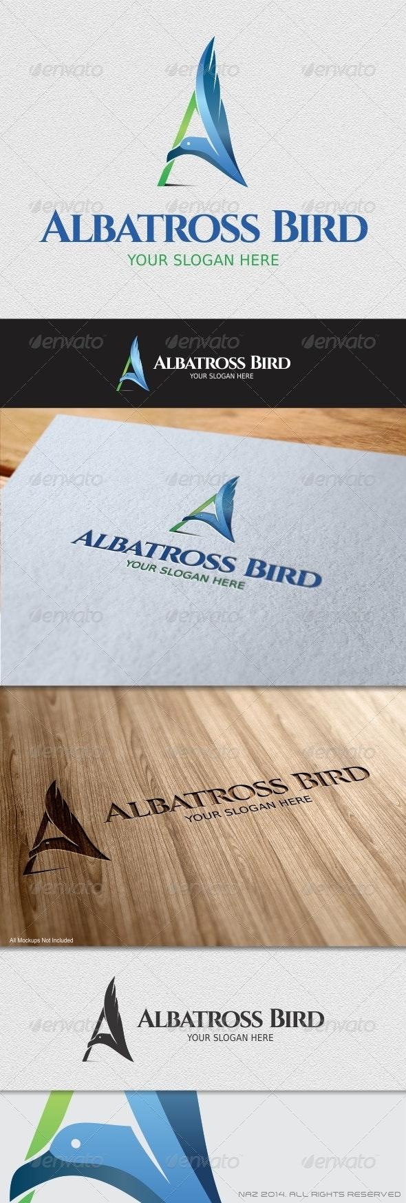 Albatross Bird Logo - Letters Logo Templates