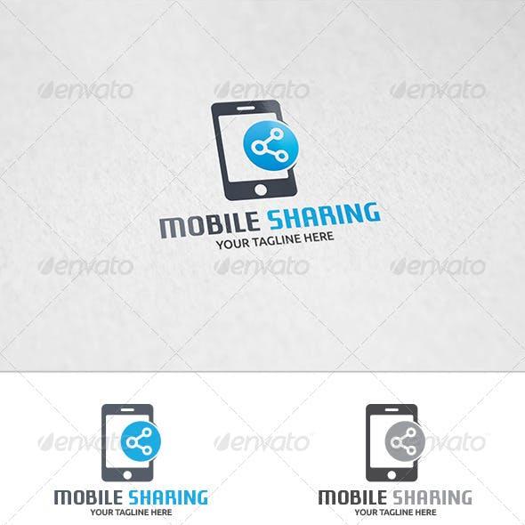 Mobile Sharing - Logo Template