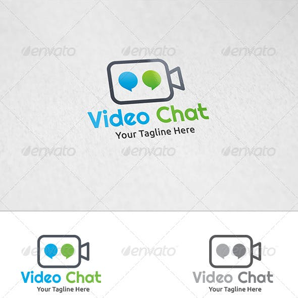 Video Chat - Logo Template