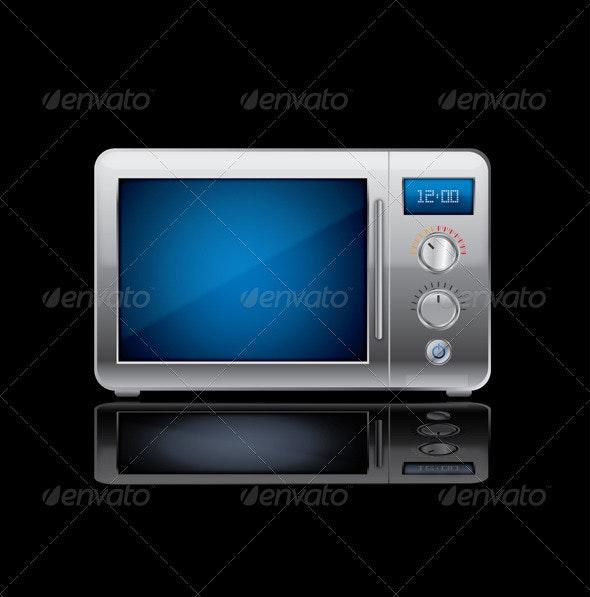 Vector Microwave Stove - Technology Conceptual