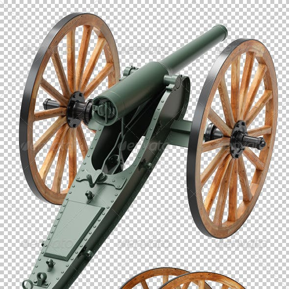 2 Cannon Renders