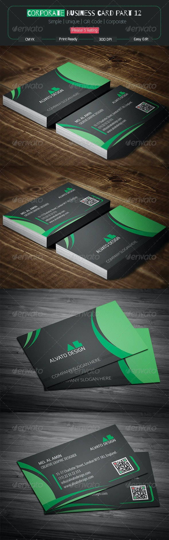 Corporate Business Card Part 12 - Corporate Business Cards