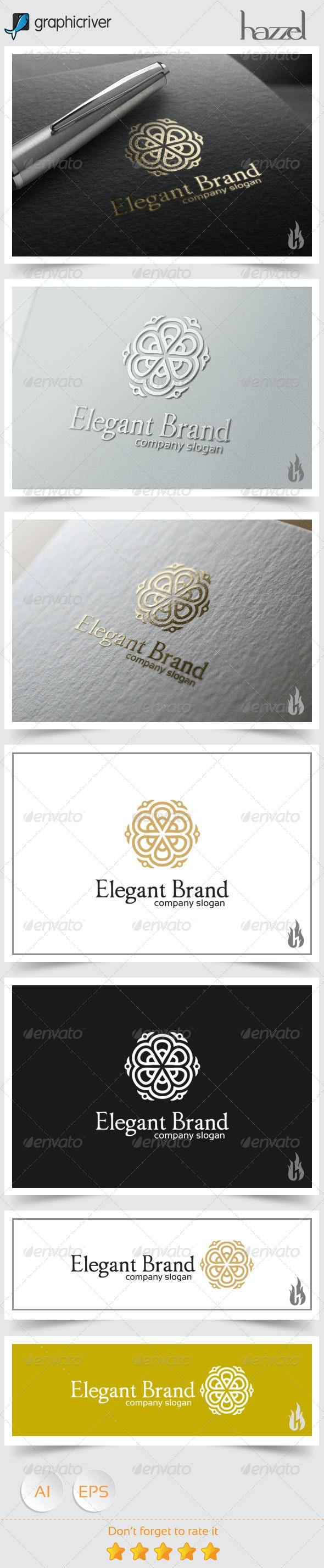 Elegant Brand Logo - Crests Logo Templates