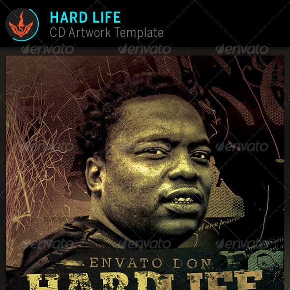Hard Life CD Artwork template