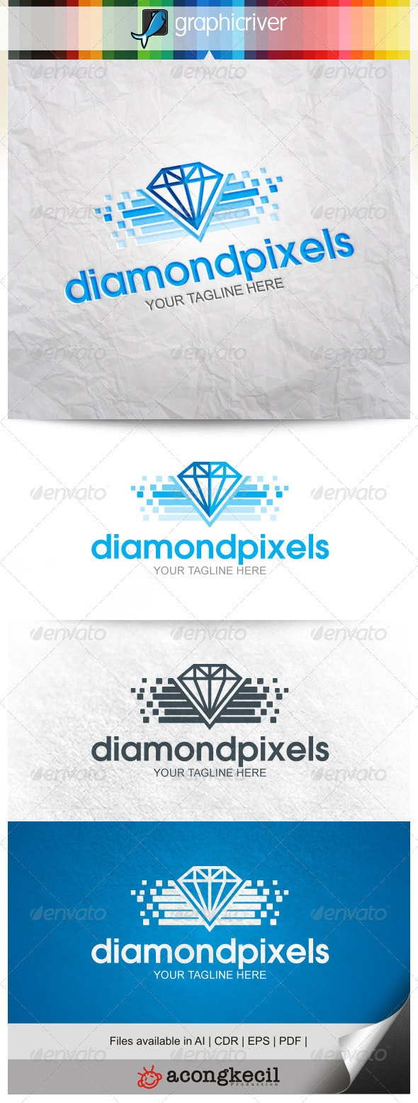 Diamond Pixels V.3