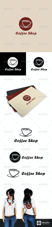 Coffee Shop Logo - Objects Logo Templates