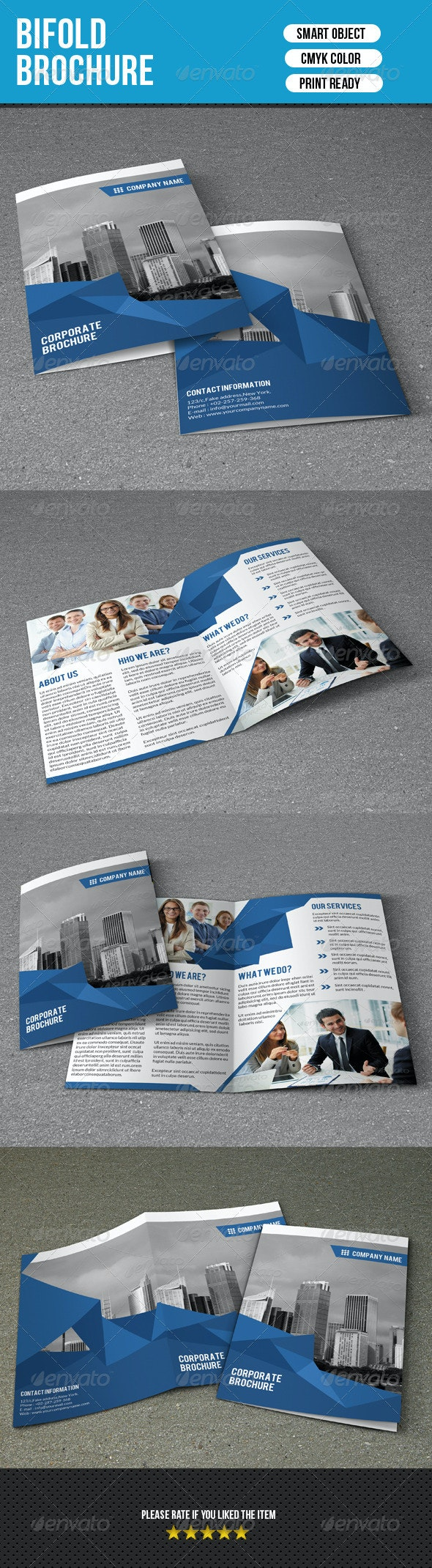 Bifold Business Brochure-V117 - Corporate Brochures
