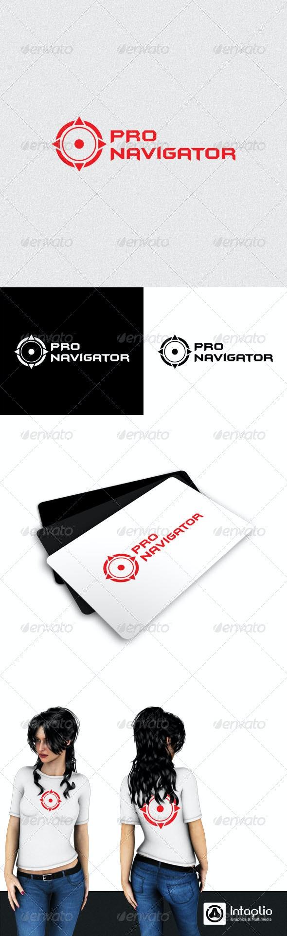 Navigation Logo - Vector Abstract