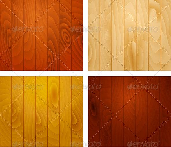 Wooden Texture Planks - Backgrounds Decorative