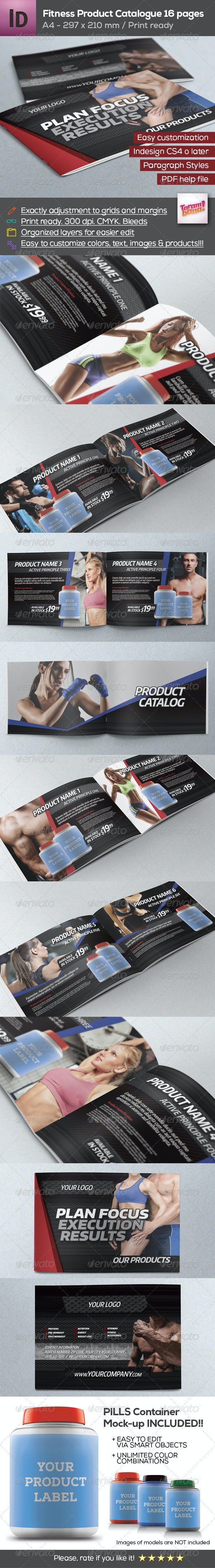 Fitness Product Catalogue A4 - Catalogs Brochures