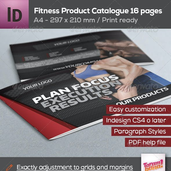 Fitness Product Catalogue A4
