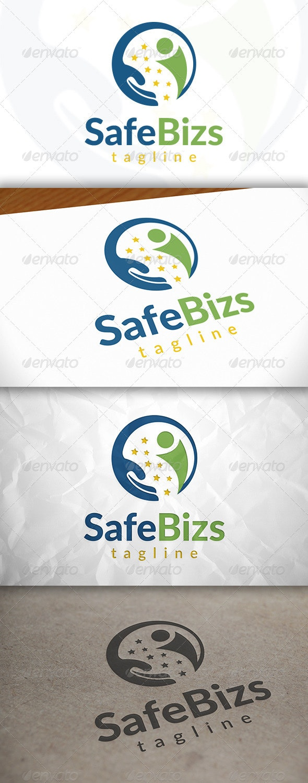 Safe Success Logo - Humans Logo Templates