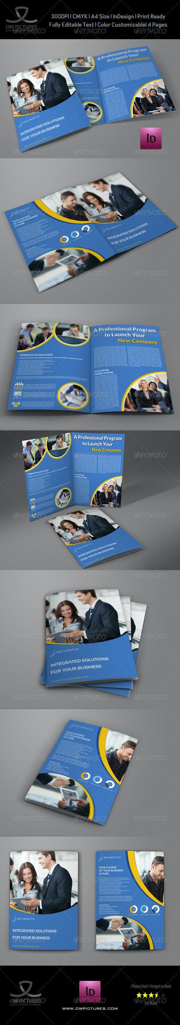 Company Brochure Bi-Fold Template Vol.29 - Corporate Brochures
