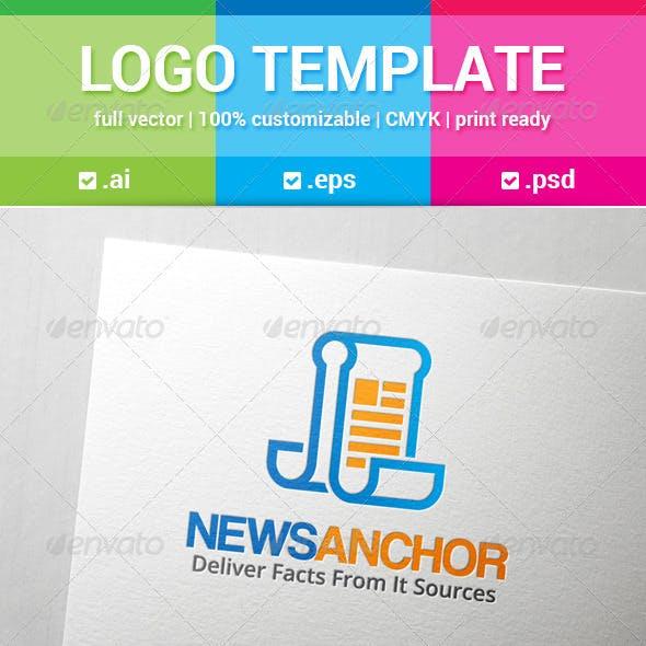 News Anchor Logo