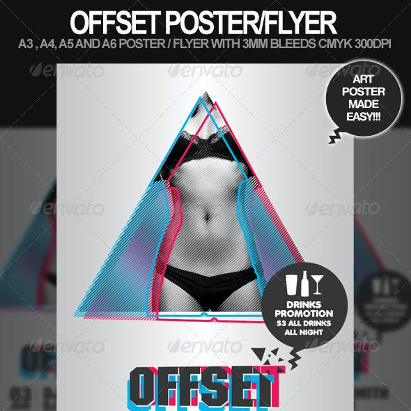 Offset Poster and Flyer