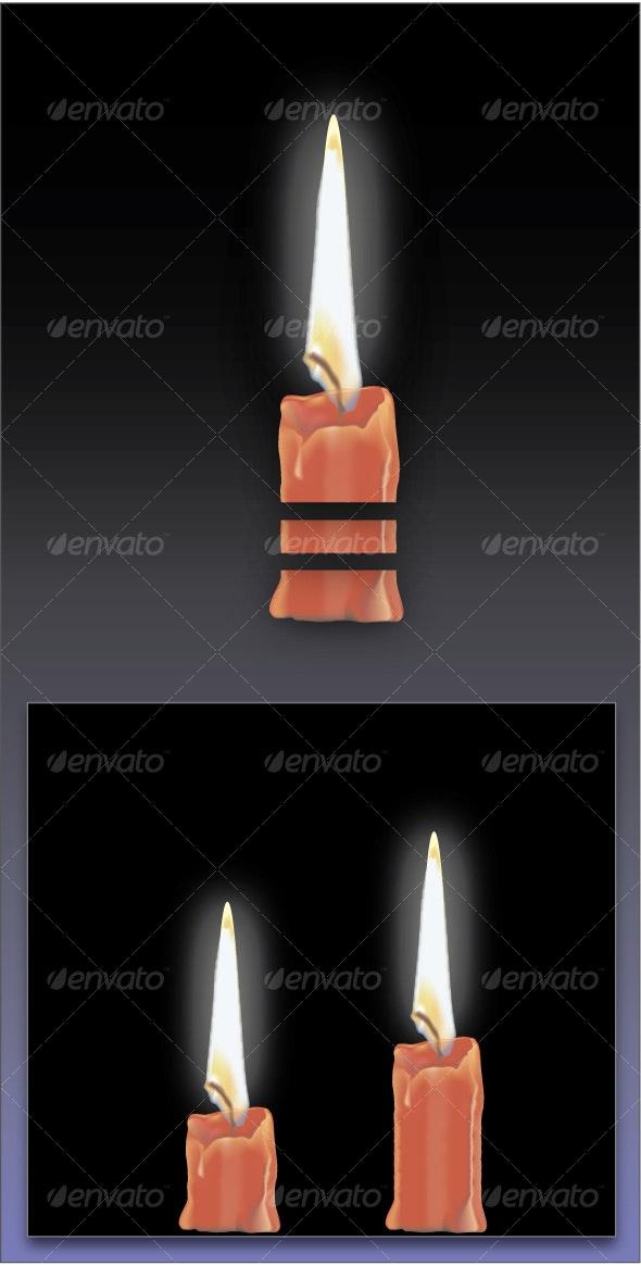 Adjustable Candle - Seasons/Holidays Conceptual