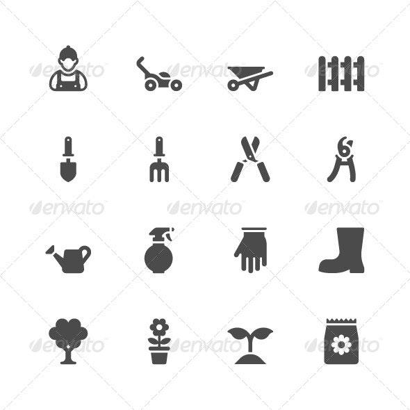 Gardening Icons - Miscellaneous Icons