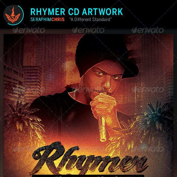Rhymer CD Artwork Template